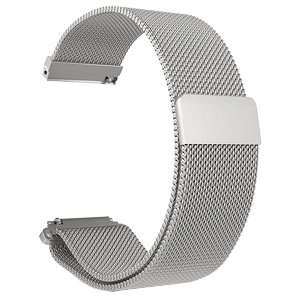 Stainless Steel Mesh Bracelet Smart Watch Band Magnetic Watch Strap Watch Replacement For Xiaomi Mi Amazfit Bip Youth Watch