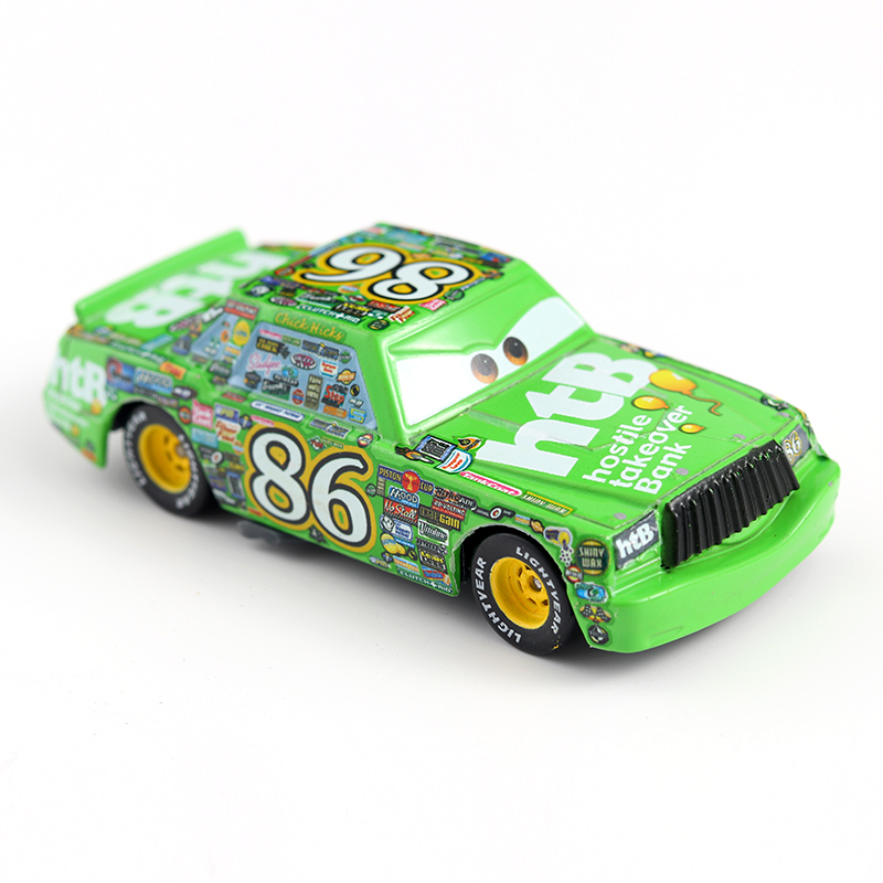 Cars Disney Pixar Cars Finn Mcmissile With Weapon Metal Diecast Toy Car 1:55 Brand New In Stock Disney Cars2 & Cars 3 Toys