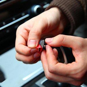 8 stücke Auto Draht Clip Aufkleber für Mazda 6 cx-5 Ford Focus 2 3 Fusion Mondeo 4 Suzuki Grand Vitara SX4 Opel Astra H J chery tiggo