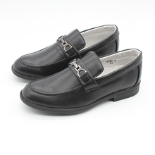 New Boys Slip on Shoes Casual Loafer School Formal Party