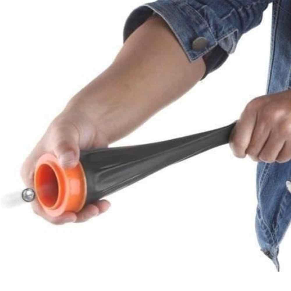 야외 Slingshot 포켓 총 장난감 부드러운 탄성 라텍스 슬리브 포켓 샷 게임 소년을위한 야외 문 장난감 총을위한 촬영 대상