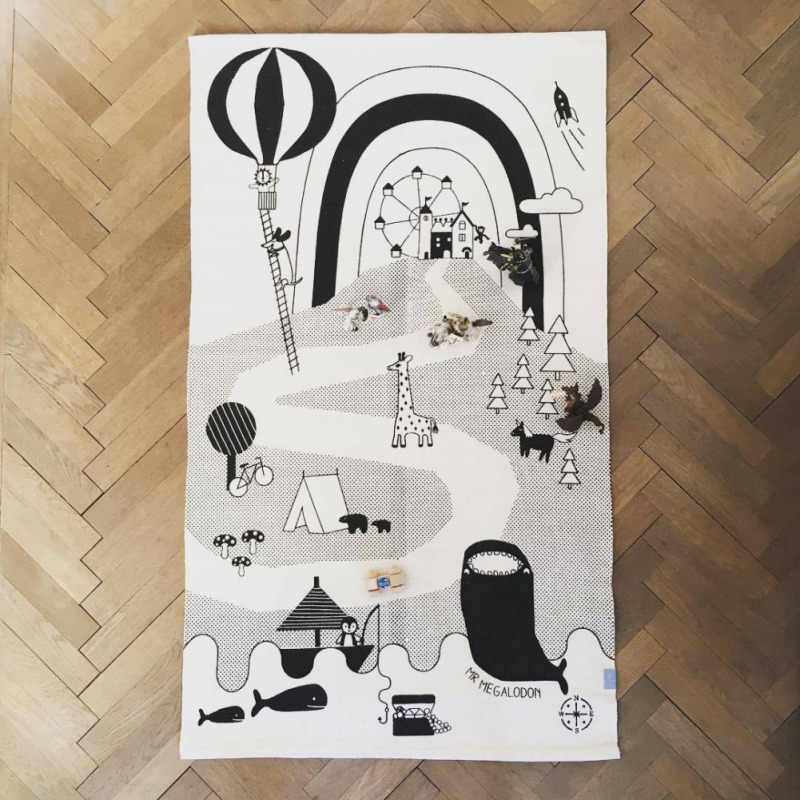 Дети гоночный трек коврик детские игровые игрушки-одеяла для детей детский игровой ползать коврик, мат головоломки ковры