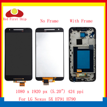 ORIGINAL 5.2'' For LG Nexus 5X LCD Display Touch Screen Digitizer Assembly With Frame H791 H790 LCD Complete OEM Replacement цена в Москве и Питере