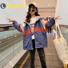Jacket Clothing Padded QUILTED Assault-Clothes Autumn Girls' Trendy Korean-Color Winter
