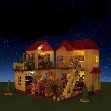 Детский плюшевый кукольный домик мебель игровой набор имитация
