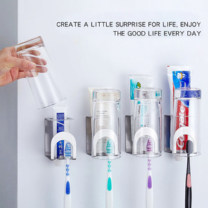 Wall Mounted Toothpaste Stainl