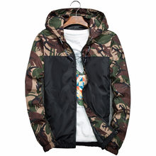 Куртка мужская камуфляжная солнцезащитная, ветровка в стиле милитари, тактическая Повседневная Верхняя одежда, пальто в Корейском стиле, л...