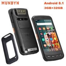 Munbyn android 81 портативный pda 52 дюймовый прочный промышленный