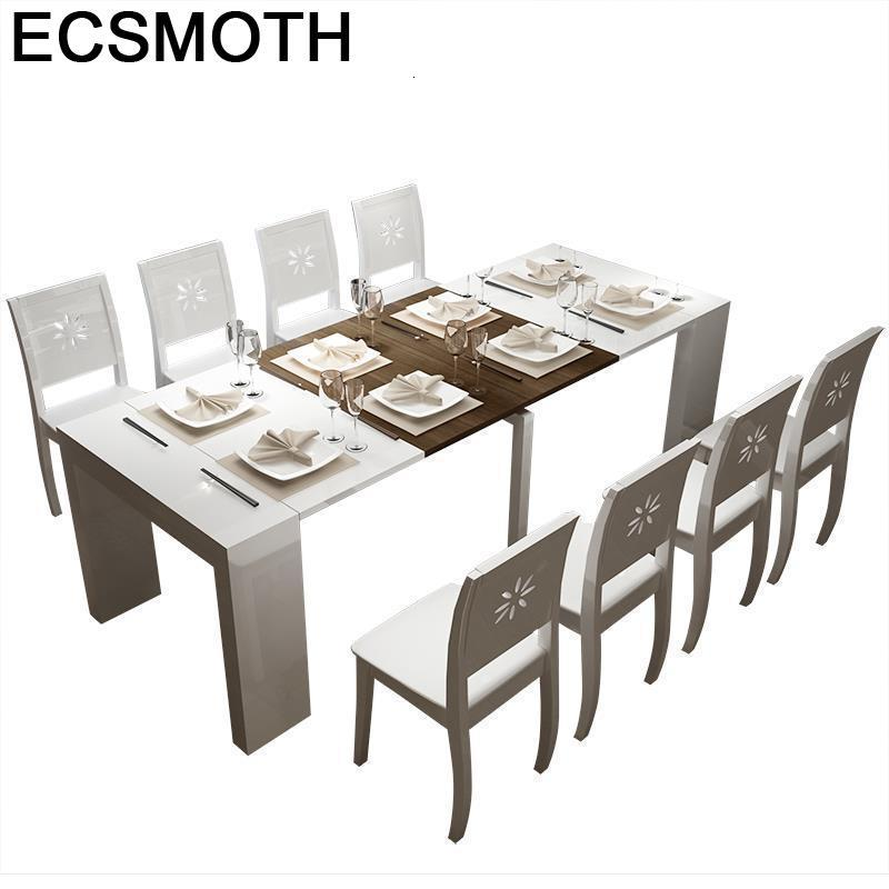 Mueble Comedor A Langer Redonda Tavolo Da Pranzo Eet Tafel Piknik Masa Sandalye Wooden Bureau Tablo Mesa De Jantar Dining Table