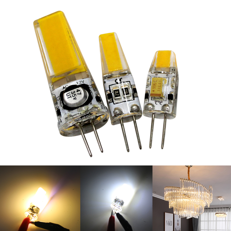 LED Lamp G4 3W 6W 9W 12V Light Bulb Warm White Cold White Crystal Chandeliers Bulb