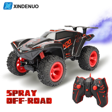 2.4G 4CH LED Light Climbing RC Car 1:12 4WD High Speed Drift Spray Remote Control Car Remote Toys For Children Boy Holiday gifts