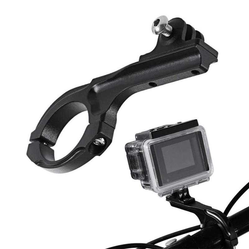 Алюминиевый держатель для руля велосипеда, зажим для GoPro Hero 8 7 6 5 4 Yi 4K Eken H9r Sjcam Sj8 M10 аксессуары для экшн-камеры