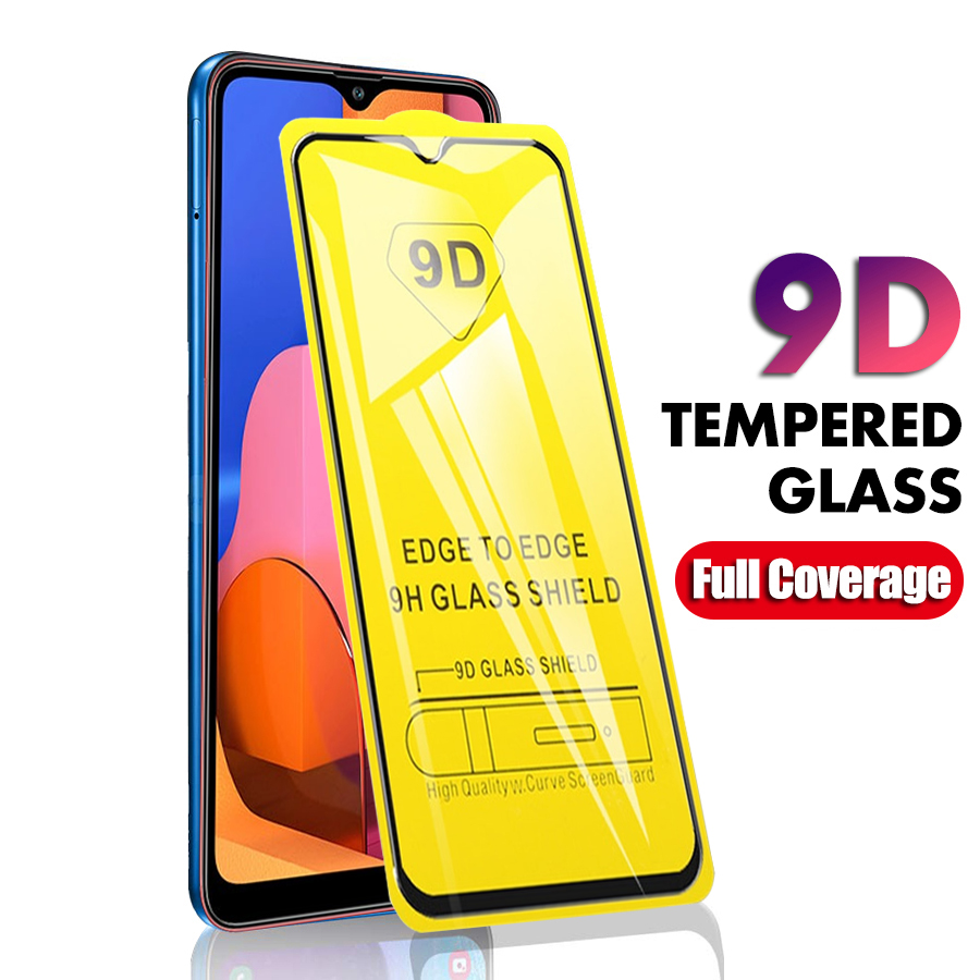 Tempered Glass For Samsung Galaxy A20S Glass Screen Protector 9D Protective Film For Samsung A20e A20 A 20S 20e 20 S E A205 A202