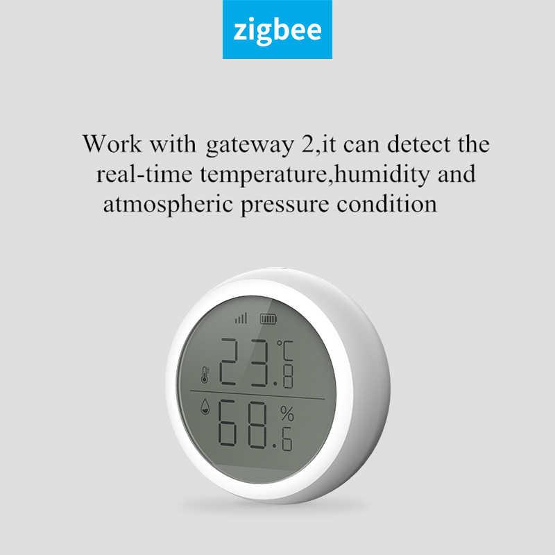 TUYA ZIGBEE WIFI Thermometer Hygrometer Smart Wireless Sensor Feuchtigkeit K7Q6