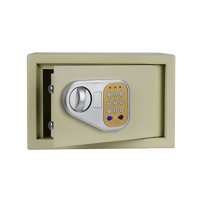 Household Safe Box Anti-Theft Fingerprint All-Steel Small Electronic Password Safety Box Office Hidden Wall Safe-Deposit Box