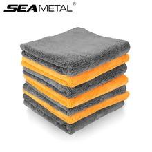 Microfiber Towels Car Detailing Washing Rag Multipurpose Plush Microfiber Cleaning Towel Auto Detailing Cleaning Cloth Accessori