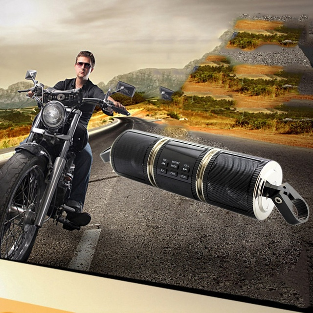 Bluetooth Motorcycle Handlebar Stereo System  1