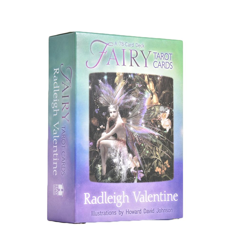 Fairy Tarot Cards: A 78-Card Deck And Guidebook New Cards Book