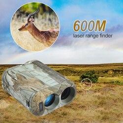 LCD Display Entfernungsmesser Digitale Laser Range Finder Entfernung Meter für Jagd Geschwindigkeit Bereich 0-300 km/h Feld Ansicht 7 grad