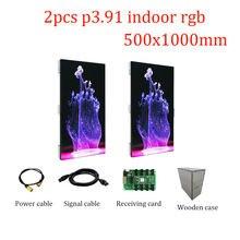 Сценическая Светодиодная панель p391 500x1000 мм светодиодный