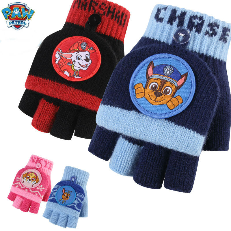 New Arrival Genuine PAW PATROL Chase Marshall Skye Everest Plush Glove Crane Action Figure Kids Children Toy Christmas Gift Doll