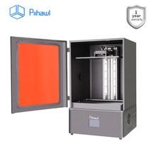 Piihawl faísca pro impressora 3d, impressoras 3d extremamente de alta precisão com resolução 4k, máquina uv da impressora da resina 3d do lcd para dental