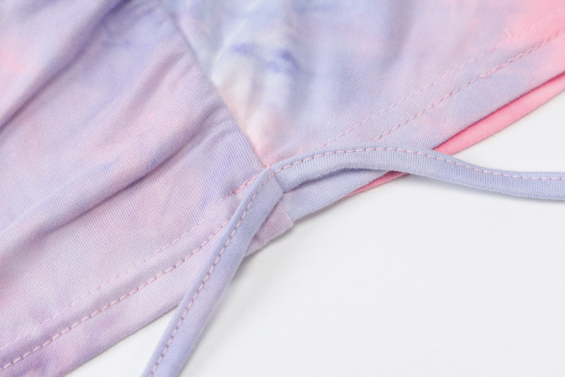 tie drying short sundress23