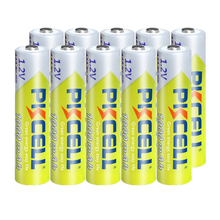 10PCS PKCELL 1.2v NI MH AAA Battery 3A 1000MAH AAA Rechargeable Battery aaa nimh battery batteries rechargea for flashlight toys