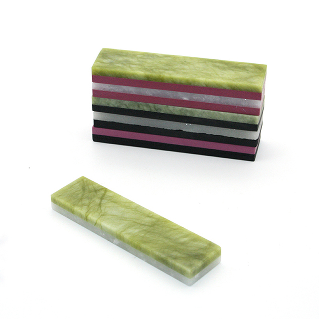 Knife Sharpener Sharpening Stone 100mm*25mm*10mm Whetstone Polishing Tool Double Sides Water Honing Stone Natural grindstone