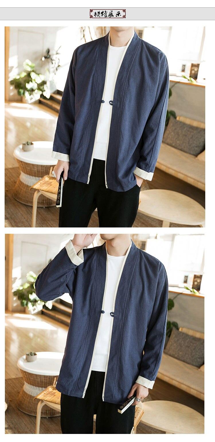 Sinicism Store Men Patchwork Shirt Streetwear Short Sleeve 19 Summer Harajuku Vintage Kimono Shirts Black Fashion Open Stitch 15