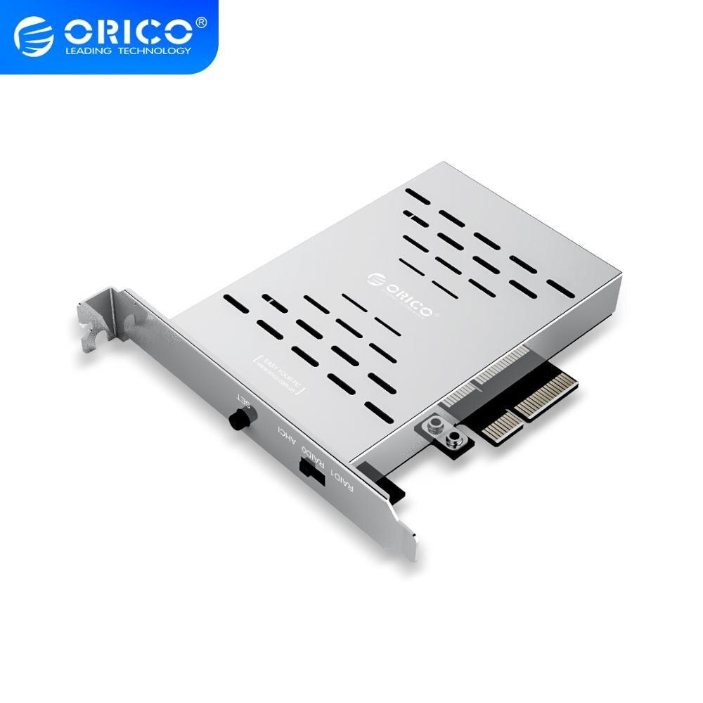 Карта ORICO PCl E M.2 SSD, жесткий диск для настольного компьютера, карта PCI E M.2 SSD из нержавеющей стали, высокоскоростная карта расширения Raid жесткого диска|raid card|raid card ssdm.2 pci-e | АлиЭкспресс