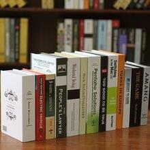 Современный простой украшение для дома книга орнамент фальшивого