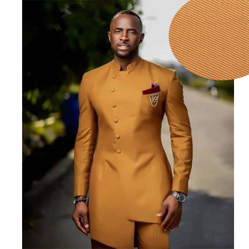 Slim Fit Men Suits Wedding Groom Tuxedos 2 Pieces (Jacket+Pants) Bridegroom Suits Front Button Design Best Man Prom Blazer beige slim fit wedding suits groom tuxedos 2 pieces jacket pants bridegroom men suits best man blazer prom wear