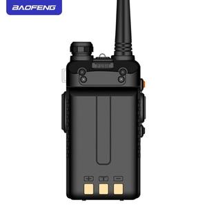 Image 2 - BAOFENG UV5R Walkie Talkie 5W UHF/VHF dual band two way radio 1800mAh batterie kapazität Ham Radio mit tastatur schiff von Moskau