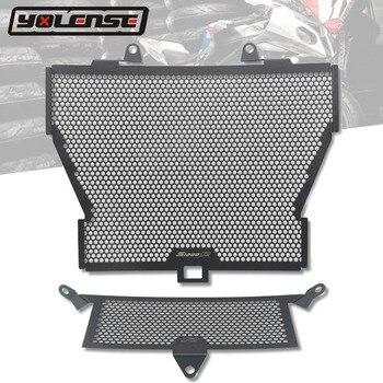 Para BMW S1000R S 1000R S1000XR 2015-2018 S1000RR S 1000 RR 2010-2018 de la rejilla del radiador guardia Protector de motocicleta Grill Cover