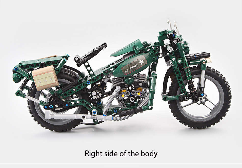 CADA C51022 World War II Motorcycle