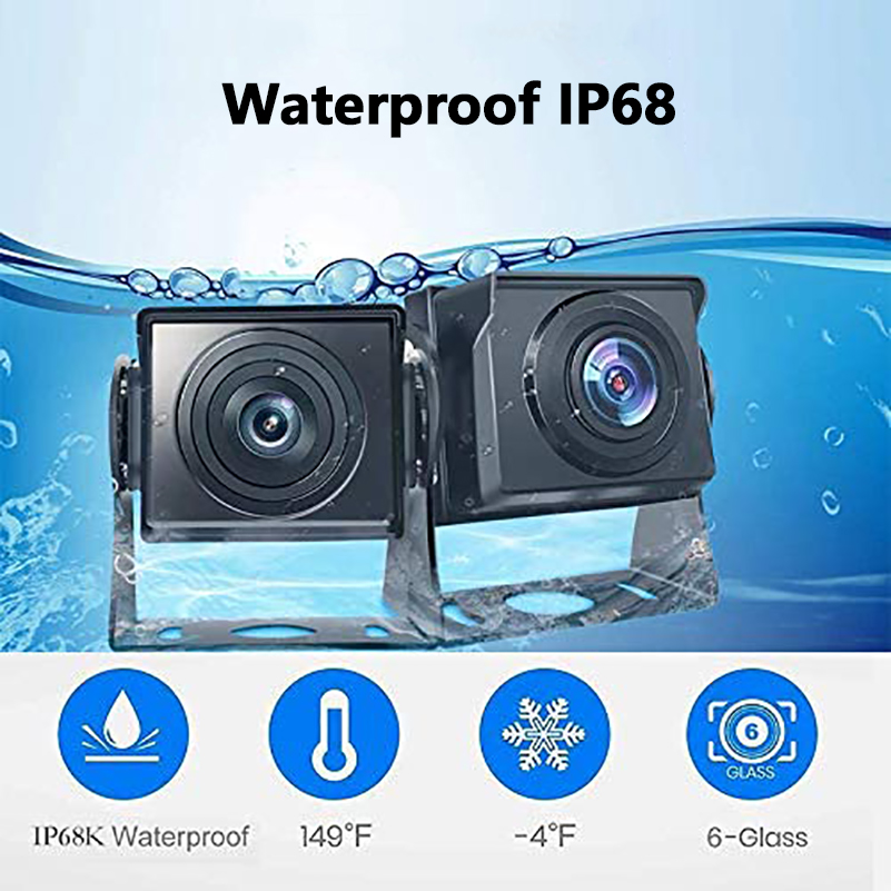cheapest 2020 Update Car Rear View Camera AHD Car Camera  720P for Cars SUVs Vans Pickups Trucks 12-24V Night Vision Waterproof IP68