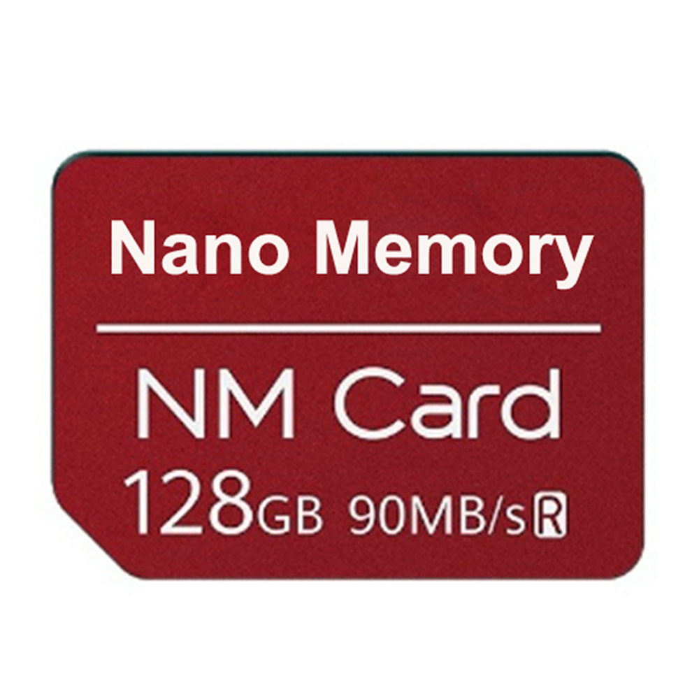 NM Card Nano Memory Card 128GB 90MB/S NM-Card For Huawei Mate20 Pro Mate20 X RS P30 P 30 Pro With USB3.1 Gen 1 TF/NM Card Reader