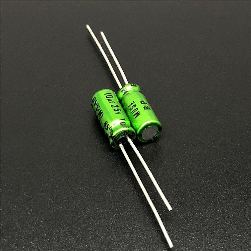 10Pcs/50Pcs 10uF 25V NICHICON Muse BP 5x11mm 25V10uF Top Grade Bipolar Audio Capacitor