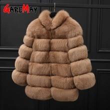2020 Plus Size Winter Outerwear Furry Faux Fur Coat Women High Collar Long Sleeve Fake Fur Jacket   Faux Fur Vest Winter Casual