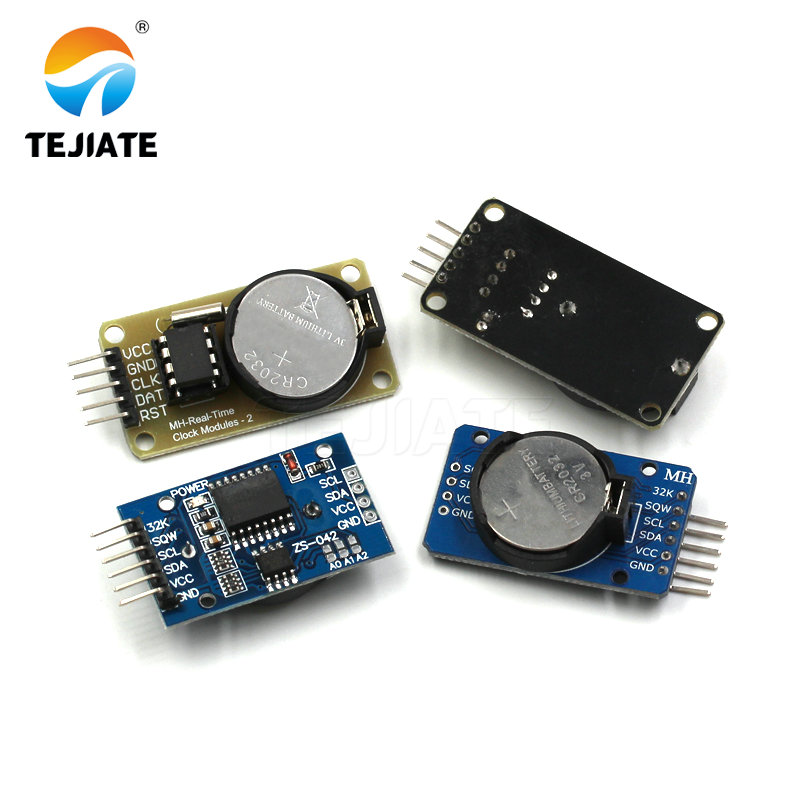 1PCS DS1302 DS3231 IIC Real Time Clock Memory Module CR2032 Mini Precision Timer With Battery For Arduino Long-acting Unit