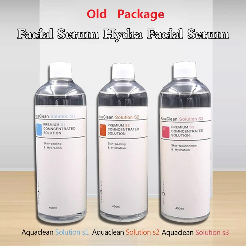Aqua Peeling Solution 3 Bottles/400ml Per Bottle Aqua Facial Serum Hydra Hydro Facial Peeling Liquid Nutritions