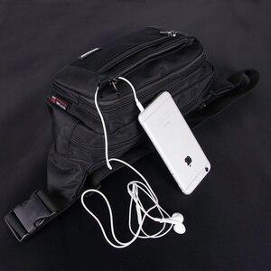 Image 5 - เอวชายCasual Functionalหน้าอกกันน้ำกระเป๋าเข็มขัดBumกระเป๋าโทรศัพท์กระเป๋าสตางค์กระเป๋ากระเป๋าUnisex Fanny Pack 3935