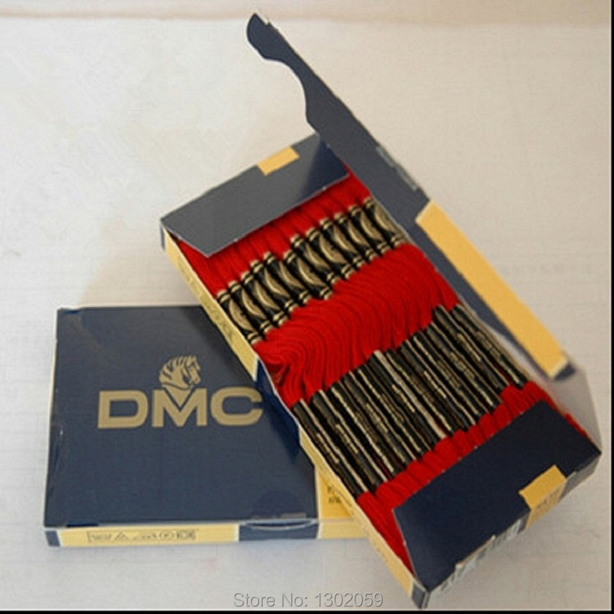 447 Pieces DMC Thread Embroidery Thread Floss + 100 Pieces Of Needle