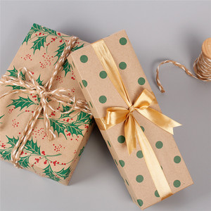 50*70cm Christmas Wrapping Paper Christmas Wedding Green Decoration Gift Wrap Packaging Paper Vellum Paper Origami Paper