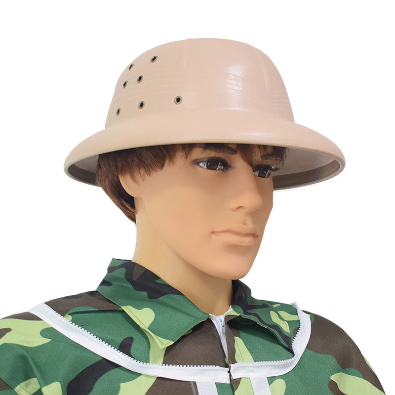 Mua Plastic Vietnam Hat Factory Manufacturers Beekeeping Protective Hat Plastic Helmet for Beekeeping