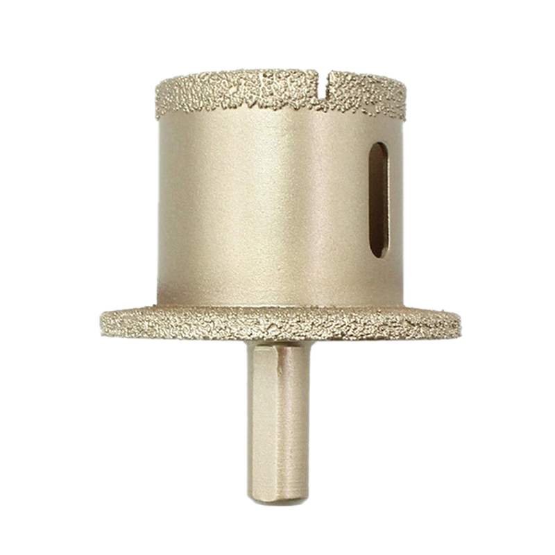 GTBL Brazed Diamond Double Hole Hole Opener For Sink Water Pipe Basin Flower Pot Marble Reaming Tool