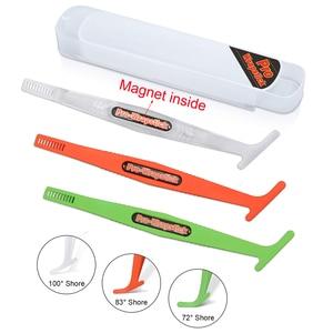 Image 1 - EHDIS 1/3 stücke Carbon Faser Aufkleber Magnet Stick Rakel Vinyl Film Verpackung Schaber Kit Auto Zubehör Fenster Folie Tönung Werkzeug