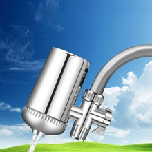 Faucet Water Filter Mineral Stone Tap Water Purifier Kitchen Tap Water Filter Rust Removal Washable Filter