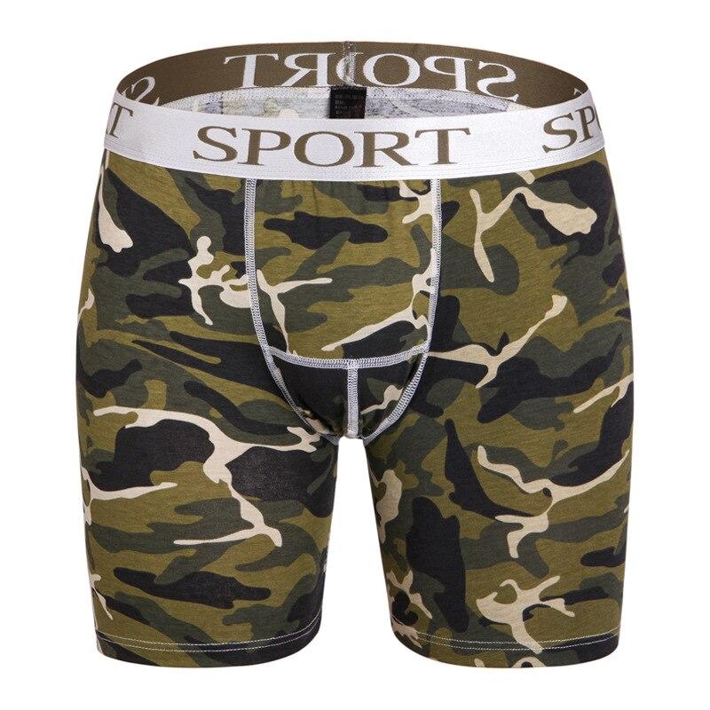 Big Size Men Sports Underwear Cotton Long Leg Boxer Xxxxl Men's Underpants Shorts Man Plus Size Mens Underware Pouch Man Boxers